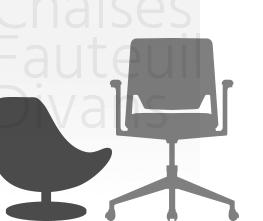 chaises de bureau fauteuils divans