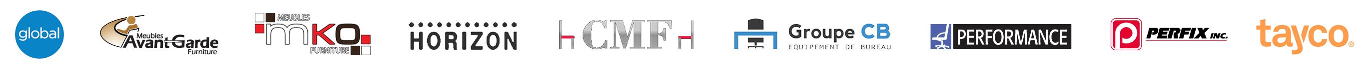 Logos fournisseurs Bureau Plan