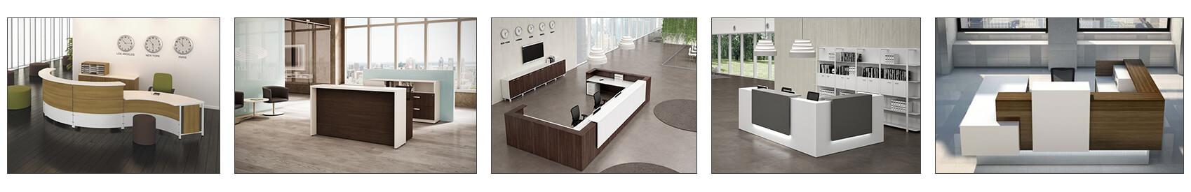 Réception, mobilier de bureaux