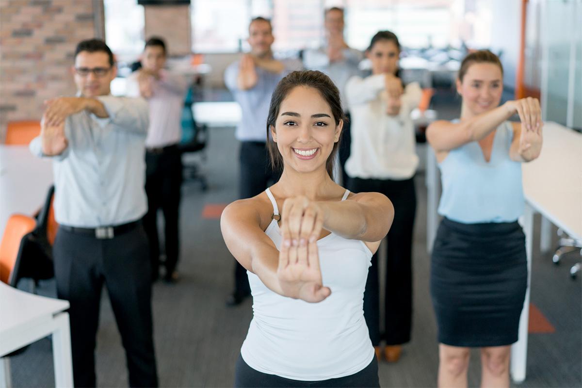 Les meilleurs exercices à faire au bureau pour rester en santé